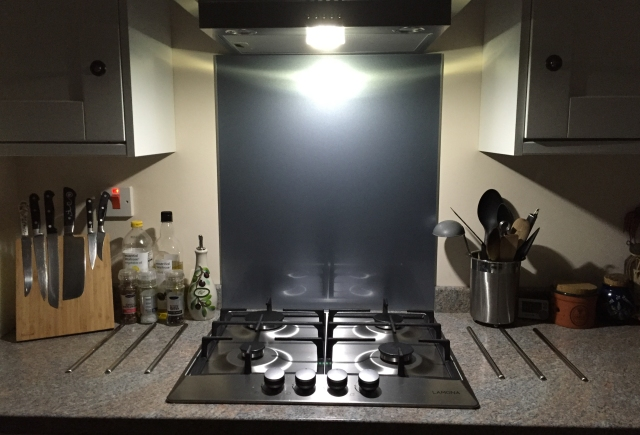 Kitchen Illuminated only by the Orfos Flare on full