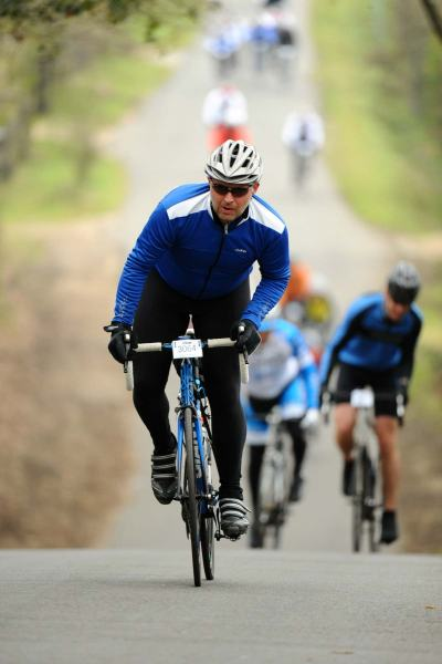 Me at 216lbs - New Forest Spring Sportive - April 2012