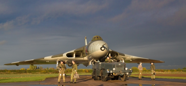 Avro Vulcan XM655 - Getting ready for take-off