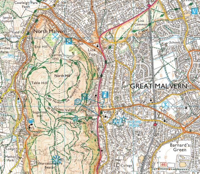 Ordnance Survey Explorer Map