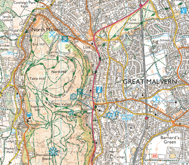 Ordnance Survey Explorer Map