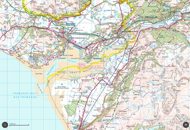 Afon Glaslyn / Traeth Mawr