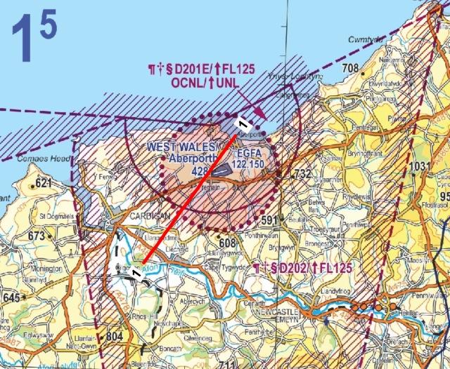 Aberporth Flying Danger Zone