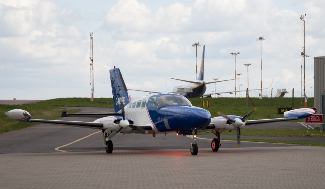 Ordnance Survey Cessna 402 - G-NOSE