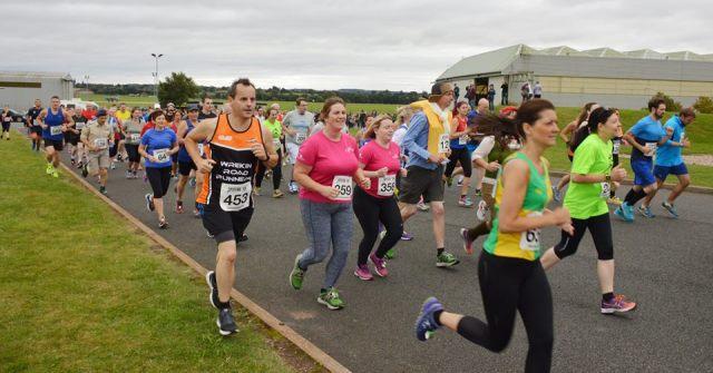 RAF Cosford - Spitfire 10K Runners