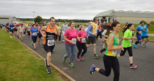 RAF Cosford - Spitfire 10K Runners