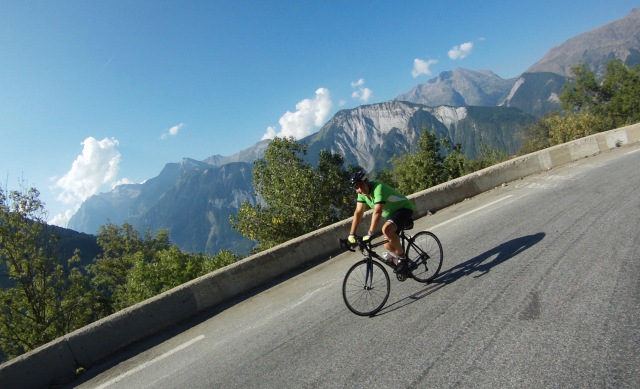 Jeremy on Alpe d'Huez #PumpingDHuez #HeartFailure Heart Failure Awareness